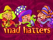 Словить удачу на игровом автомате Mad Hatters